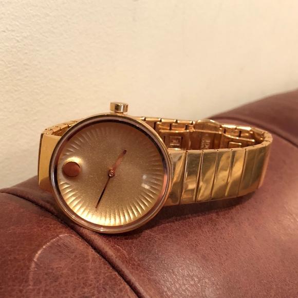 6b14a10a6 Movado Edge Gold Watch. M_5ad50ea78af1c5165f4872df